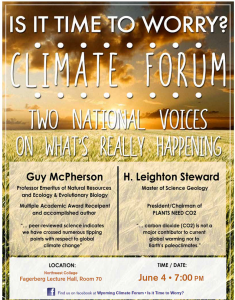 Wyoming debate flyer