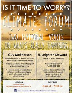 Wyoming debate flyer