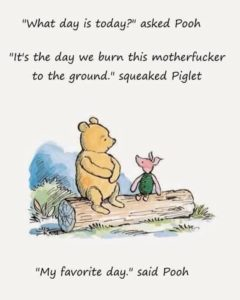 Pooh and Piglet Echo My Sentiments About Civilization
